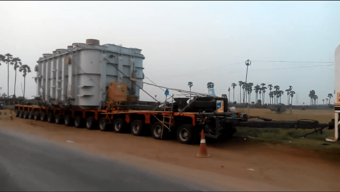Transformer Transportation in India