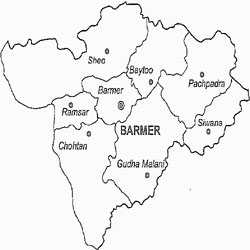rajasthan barmer map for all india transporter