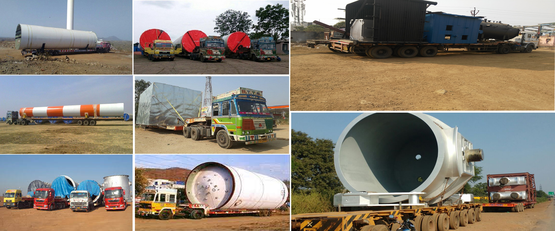 lengthy odc boiler conveyor and crane transportation service