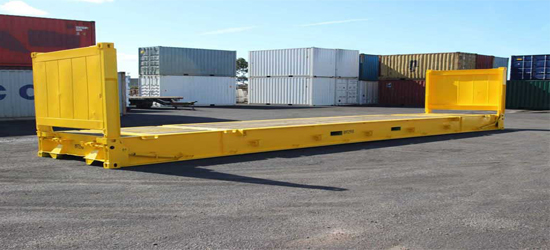 flatrack container transportation