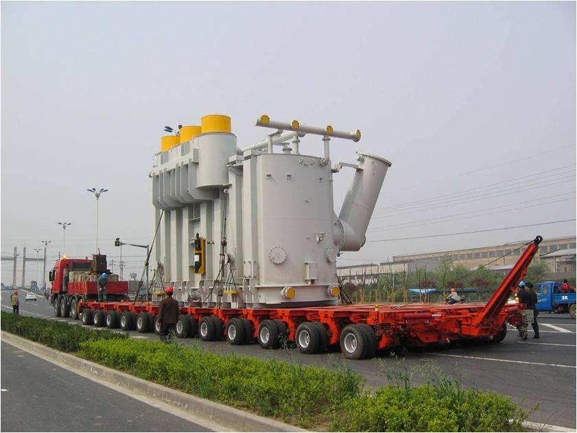 Heavy Haulage Oversize load types of transformer Transformer Turbines parts Transportation