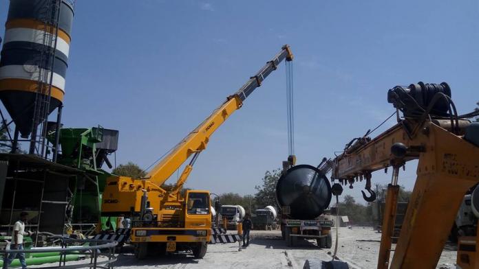 silo storage tank transportation